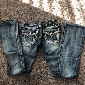 Miss Me Boot Cut Size 25